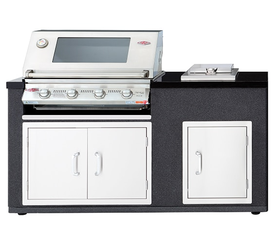 BS79920_ARTISAN 3000SS 4 burner STRAIGHT SS TOP_Built-in