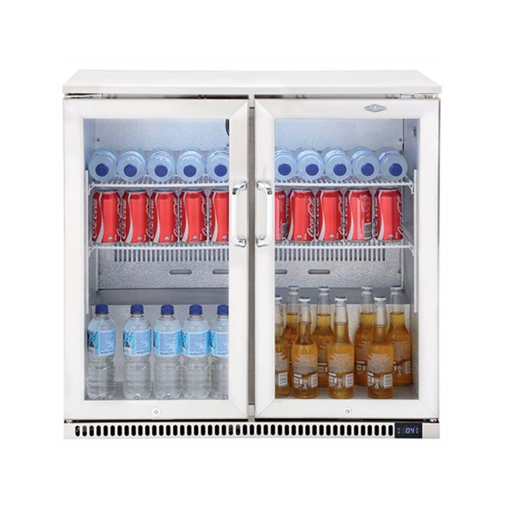 BeefEater-190L-Double-Door-Outdoor-Display-Fridge