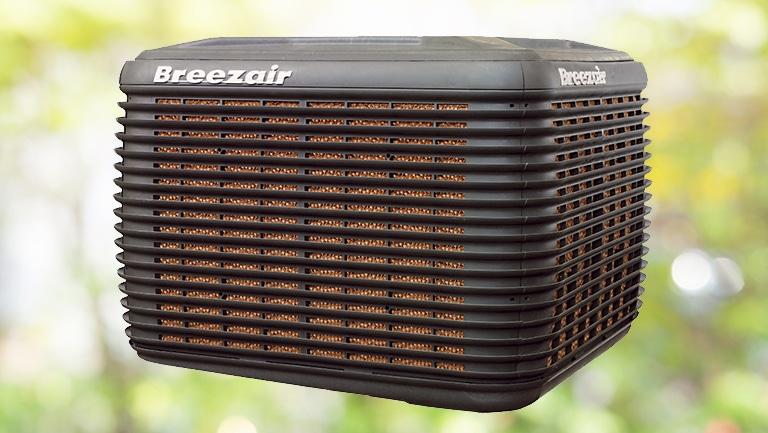 Breezair Exq210 Evaporative Cooler Gas Works