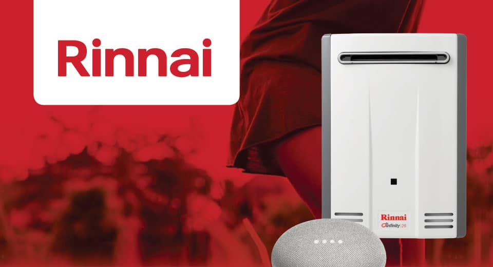 Rinnai-Hot-water-Promotion-Infinity-Google-Mini-Mobile-Special-Button